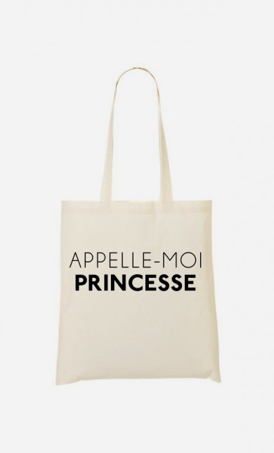 Tote Bag Appelle-Moi Princesse