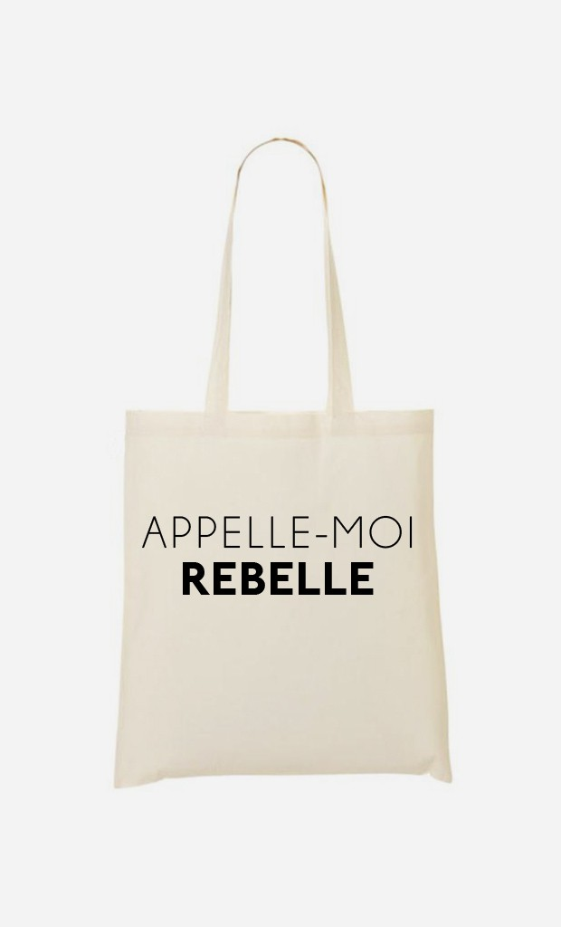 Tote Bag Appelle-Moi Rebelle