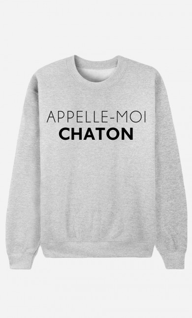 Sweater Appelle-Moi Chaton