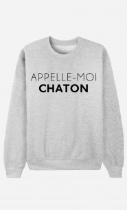 Sweat Appelle-Moi Chaton