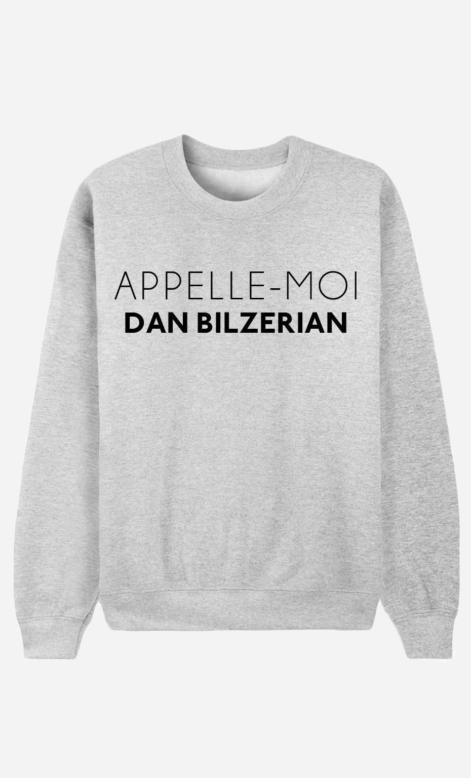 Sweat Homme Appelle-Moi Dan Bilzerian