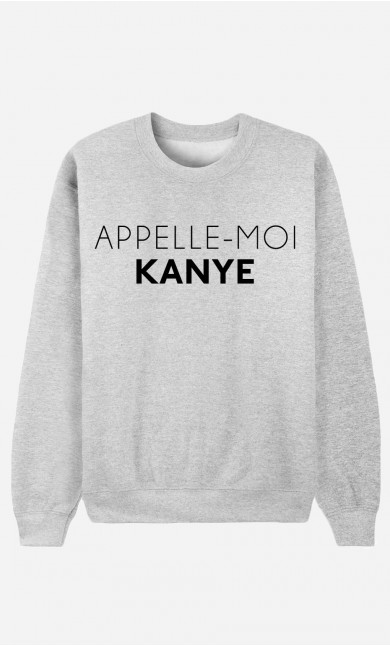 Sweat Homme Appelle-Moi Kanye