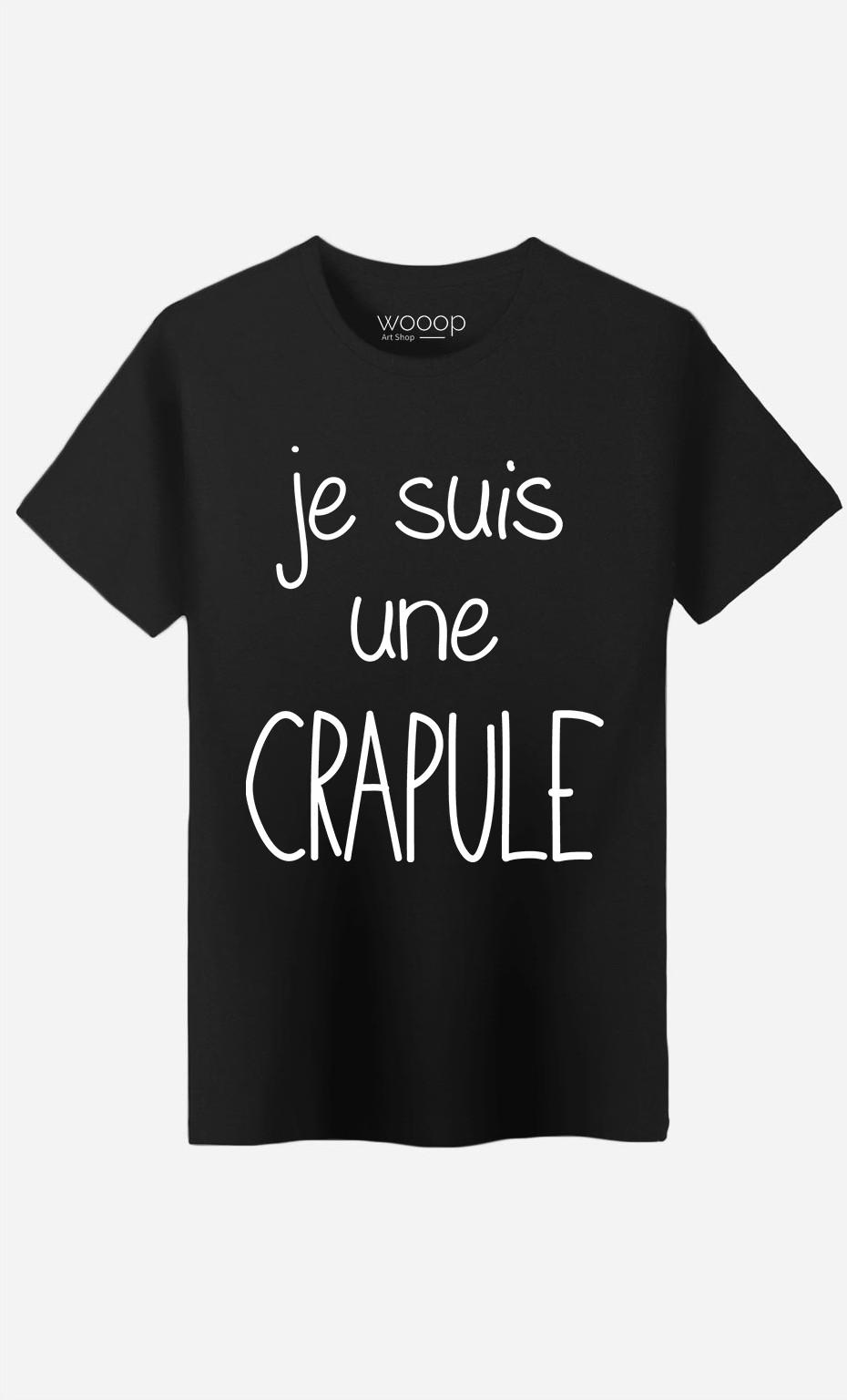 T-Shirt Homme Je Suis Une Crapule