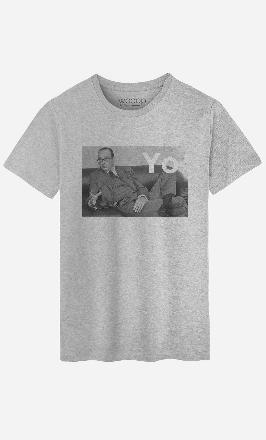 T-Shirt Homme Chirac Yo