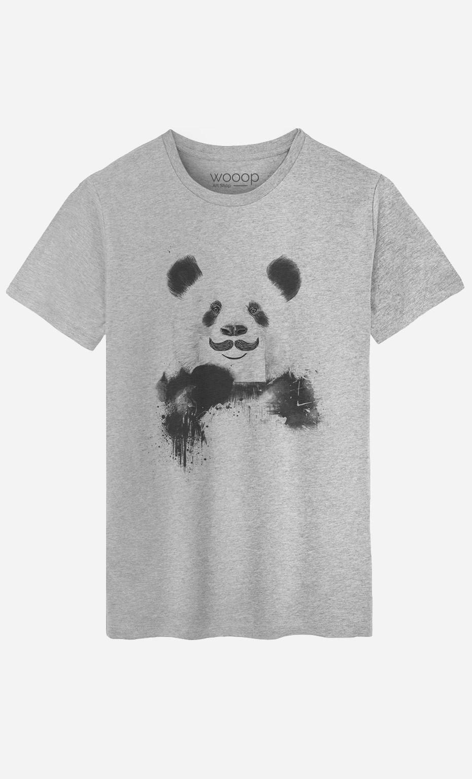 T-Shirt Homme Funny Panda