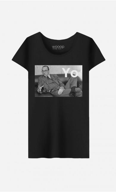 T-Shirt Femme Chirac Yo