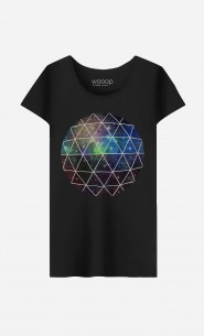 T-Shirt Femme Space Geodesic