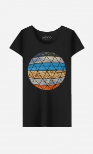 T-Shirt Femme Natural Geodesic