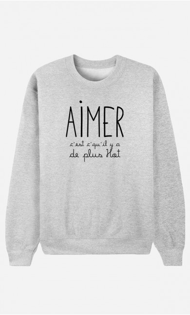 Sweat Homme Aimer