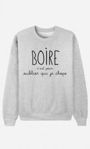 Sweat Femme Boire
