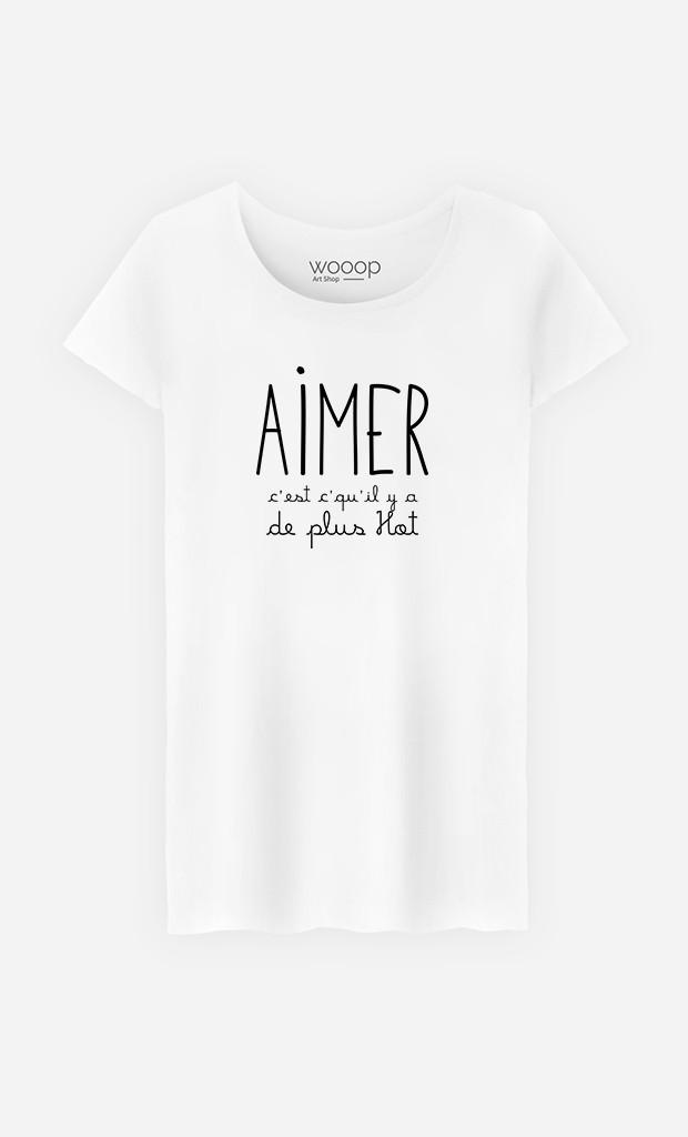 T-Shirt Femme Aimer