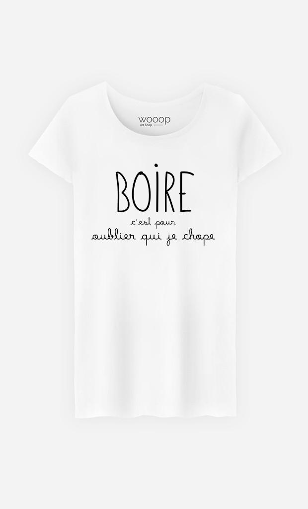 T-Shirt Femme Boire