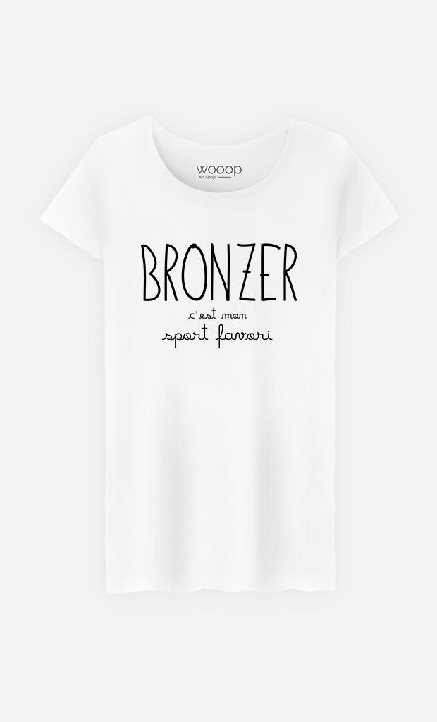 T-Shirt Femme Bronzer