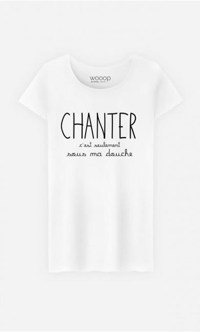 T-Shirt Femme Chanter