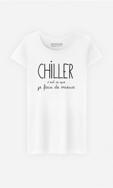 T-Shirt Femme Chiller