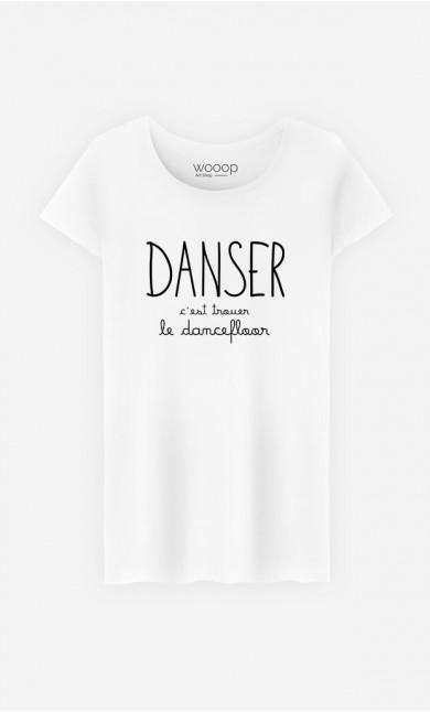 T-Shirt Femme Danser