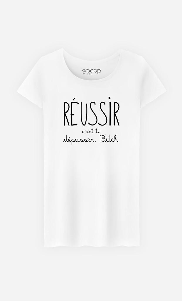 T-Shirt Femme Réussir