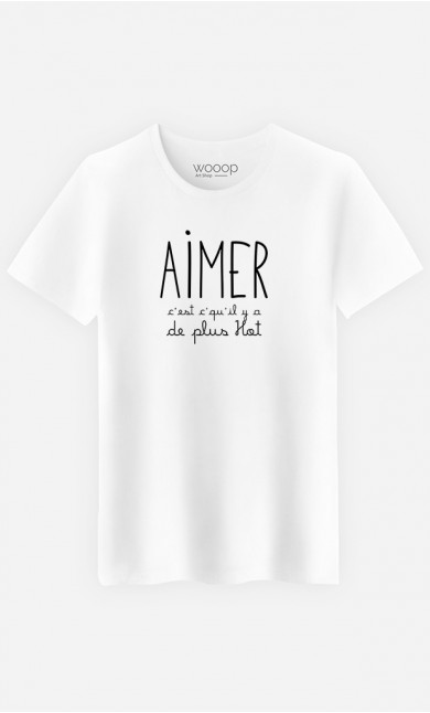 T-Shirt Homme Aimer