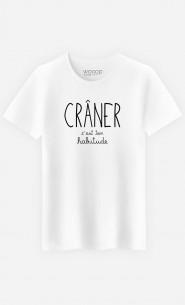 T-Shirt Homme Crâner