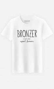 T-Shirt Homme Bronzer