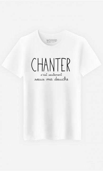 T-Shirt Homme Chanter