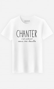 T-Shirt Homme Chanter