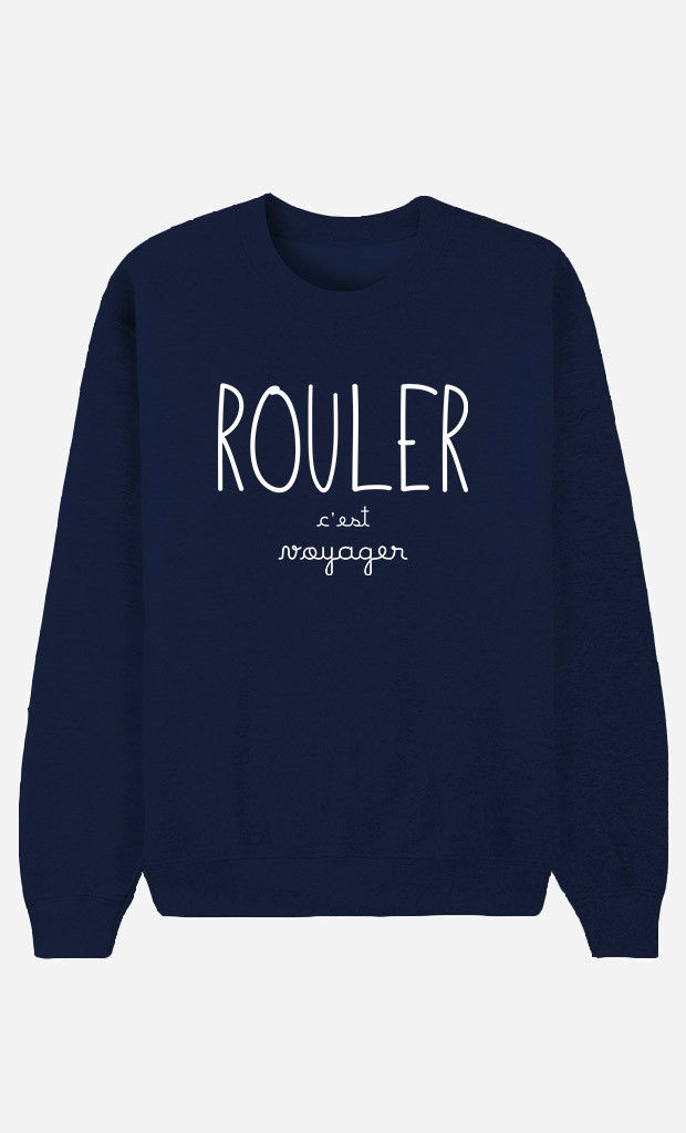 Sweat Bleu Rouler