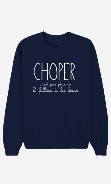 Sweat Bleu Choper