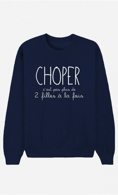 Sweat Bleu Choper