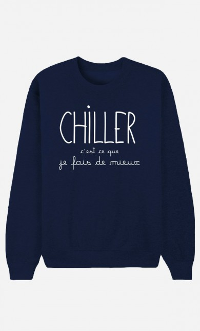 Blue Sweater Chiller