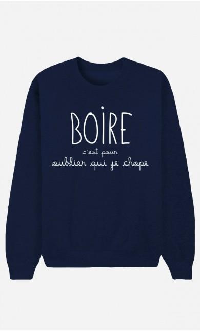 Sweat Bleu Boire