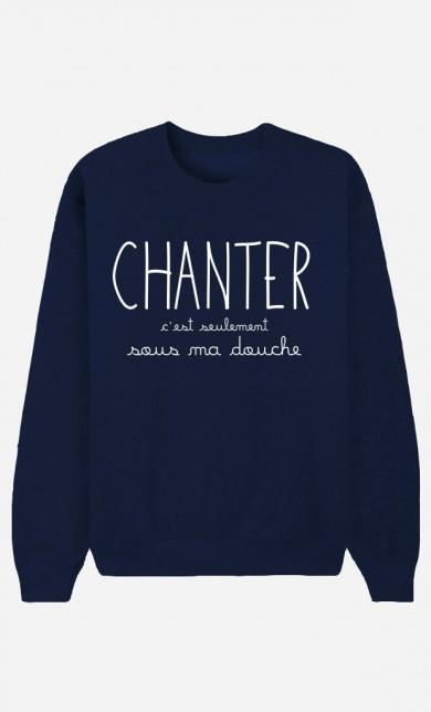 Sweat Bleu Chanter