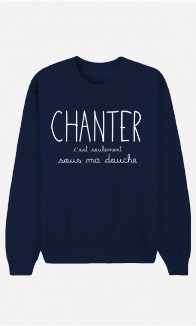 Sweat Bleu Chanter