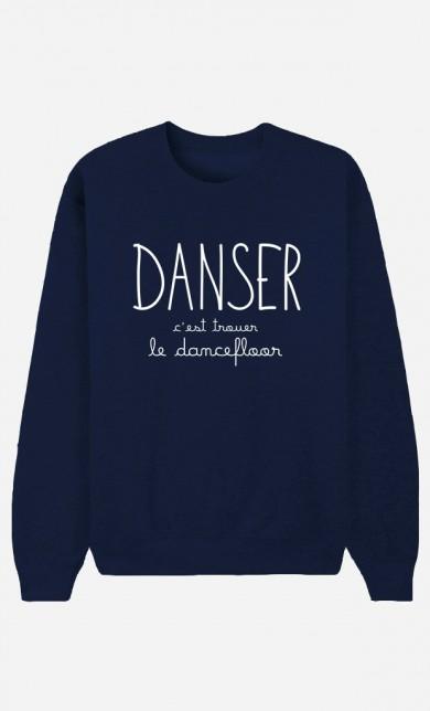 Sweat Bleu Danser