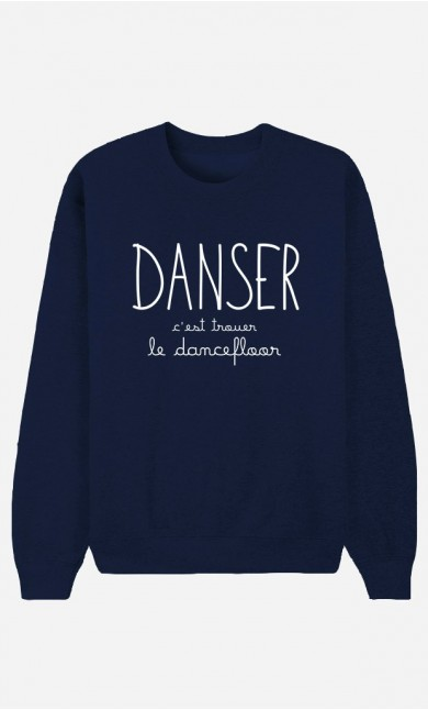 Sweat Bleu Danser
