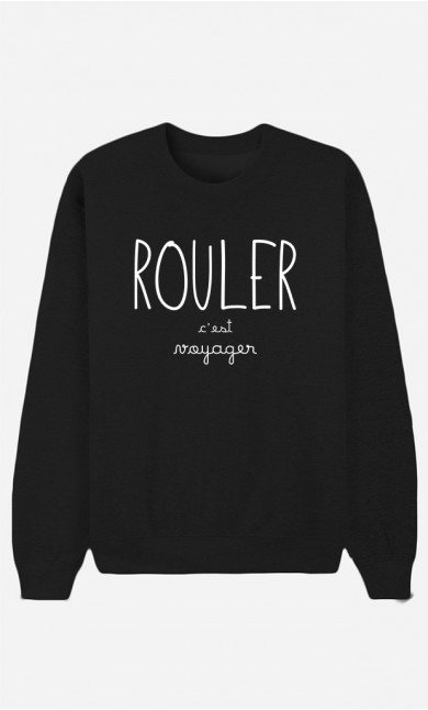 Sweat Noir Rouler