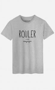 T-Shirt Homme Rouler