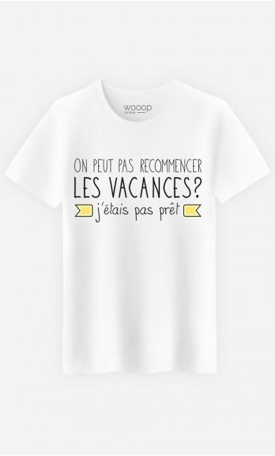 T-Shirt J'étais Pas Prêt