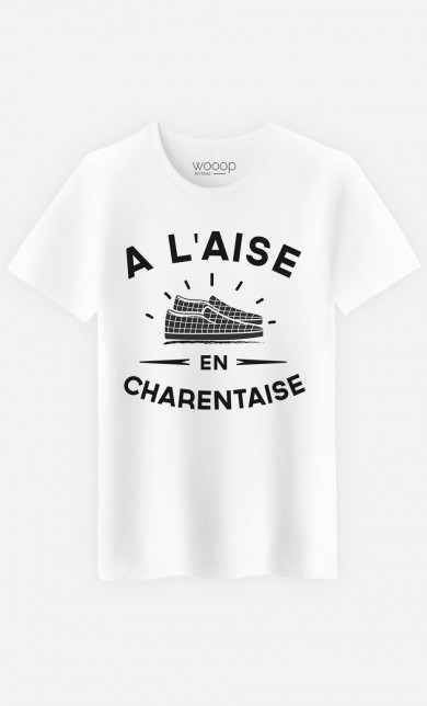 T-Shirt A L'Aise en Charentaise