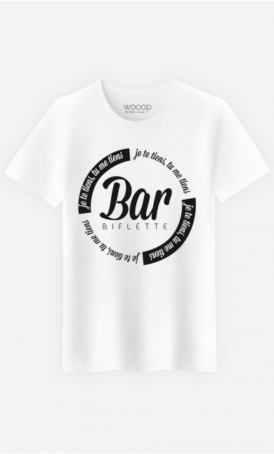 T-Shirt Homme Bar'biflette