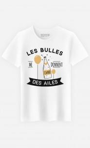 T-Shirt Homme Les Bulles Me Donnent Des Ailes