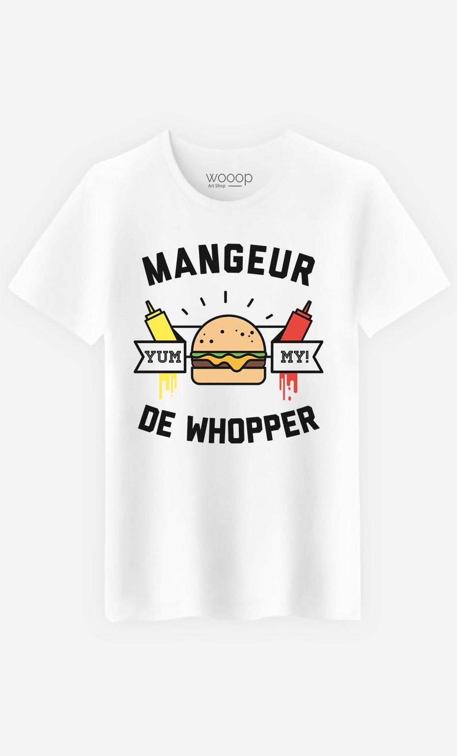 T-Shirt Homme Mangeur de Whopper