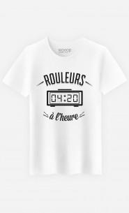 T-Shirt Homme Rouleurs à L'Heure