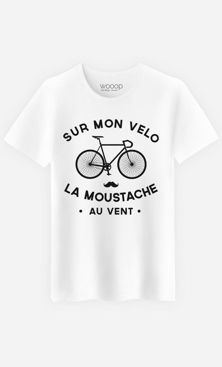 T-Shirt La Moustache Au Vent