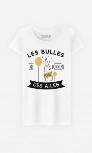 T-Shirt Les Bulles Me Donnent Des Ailes