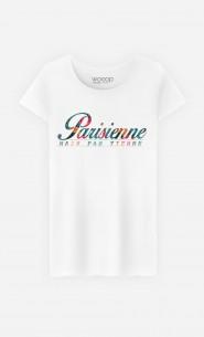 T-Shirt Femme Parisienne Mais Pas Tienne