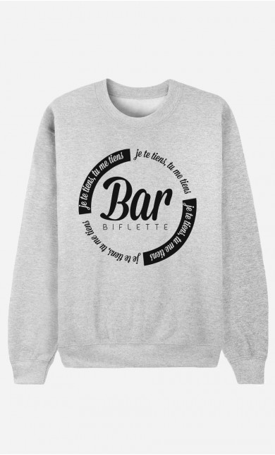 Sweat Homme Bar'biflette