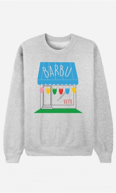 Sweat Homme Barbu'vette