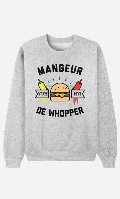 Sweater Mangeur de Whopper