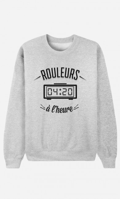 Sweater Rouleurs A L'Heure